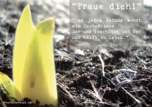 Traue dich!